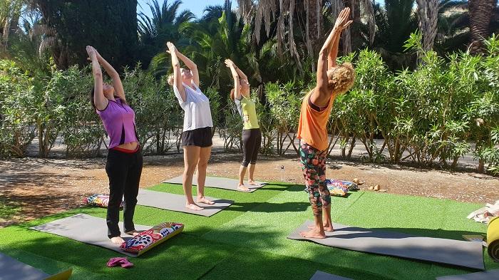 Back bend Yoga pose